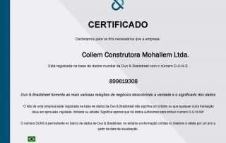 collem Collem Construtora 20160802101708 Certificado duns nuberLtda 1024x768 1 320x202
