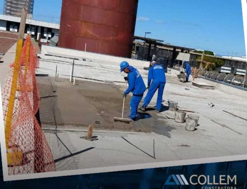 As obras da Collem na Central de Água Gelada no Aeroporto de Confins estão em ritmo acelerado