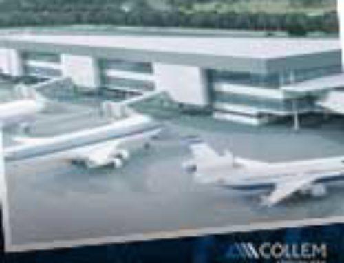 Collem. Obras no Aeroporto de Confins relevância e eficiência nas operações.