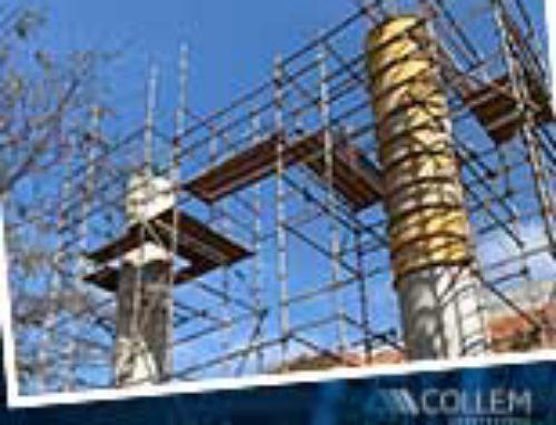 Estamos concluindo as fundações e a mesoestrutura nas obras do viaduto