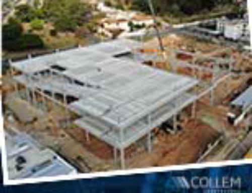 A Collem executa a construção de Shopping Center