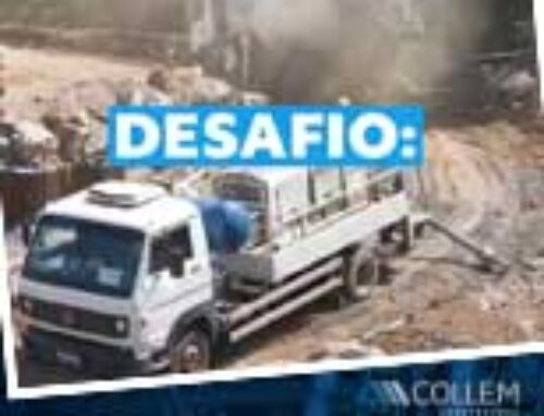 Collem realiza obra de proteção definitiva das ombreiras e reforço à jusante do barramento C do Rio Doce