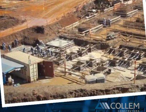 Collem – Obras em planta de mineração